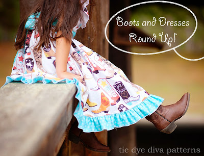 Sewing For Fall And Winter Boots And Dresses Roundup