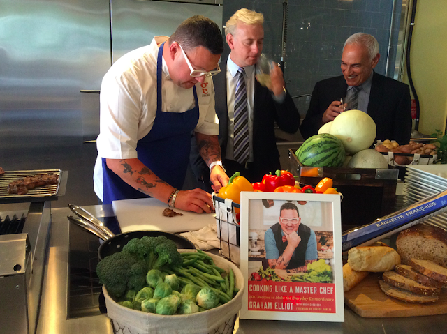 Cooking with Master Chef Graham Elliot #TasteFresh