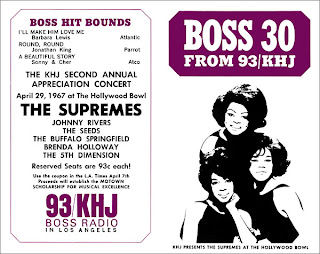 KHJ Boss 30 No. 92 - The Supremes