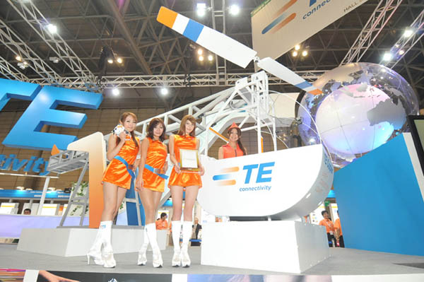 CEATEC JAPAN - Combined Exhibition of Advanced Technologies - at Makuhari Messe, Chiba