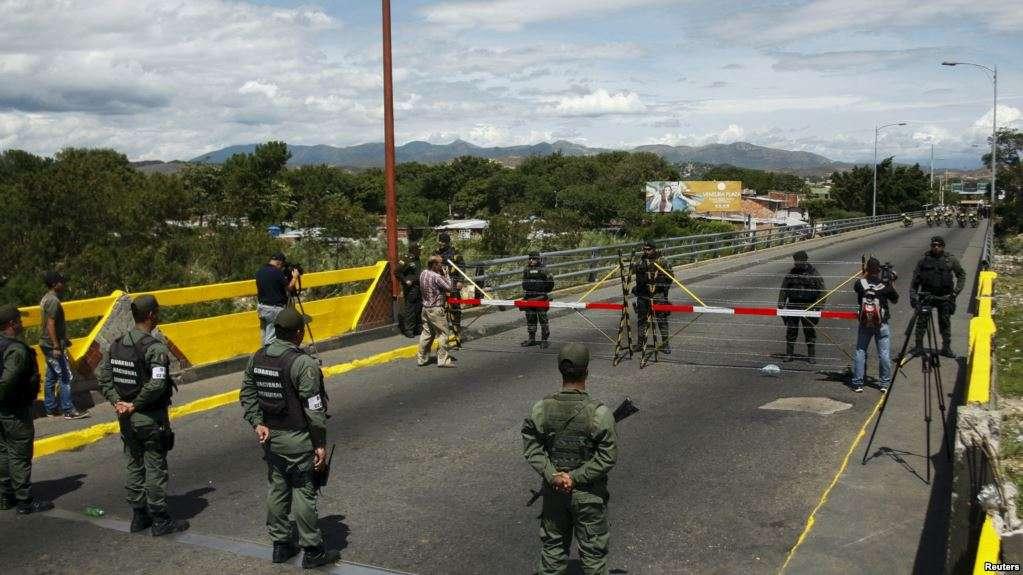Tensión militar bilateral en frontera de Cúcuta / REUTERS