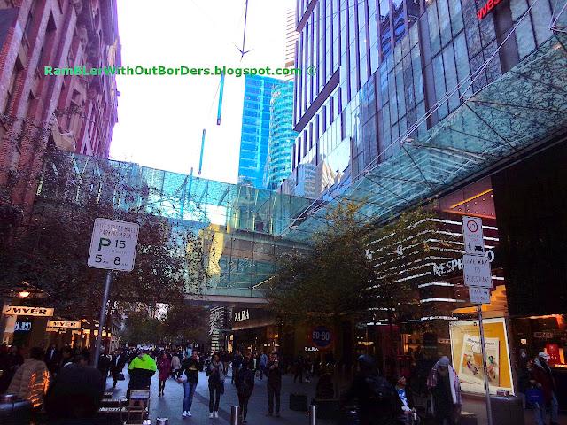 Skybridge, Pitt Street Mall, Sydney Centrepoint, Sydney, Australia