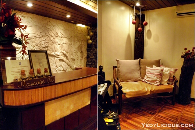 Relaxing Spa at Mandarin Spa of Boracay Mandarin Island Hotel Philippines Blog Review