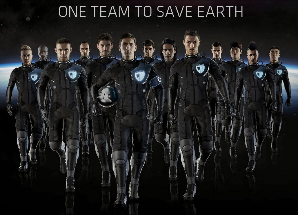 Messi and Ronaldo join to make the greatest Galaxy 11 team