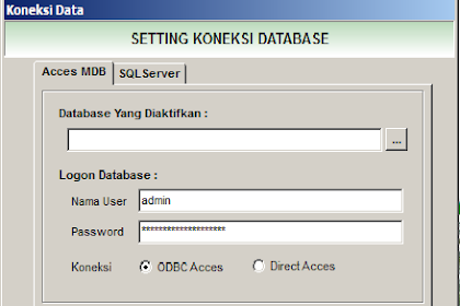 Cara setting koneksi database siskeudes 2019 supaya bisa digunakan dalam satu komputer