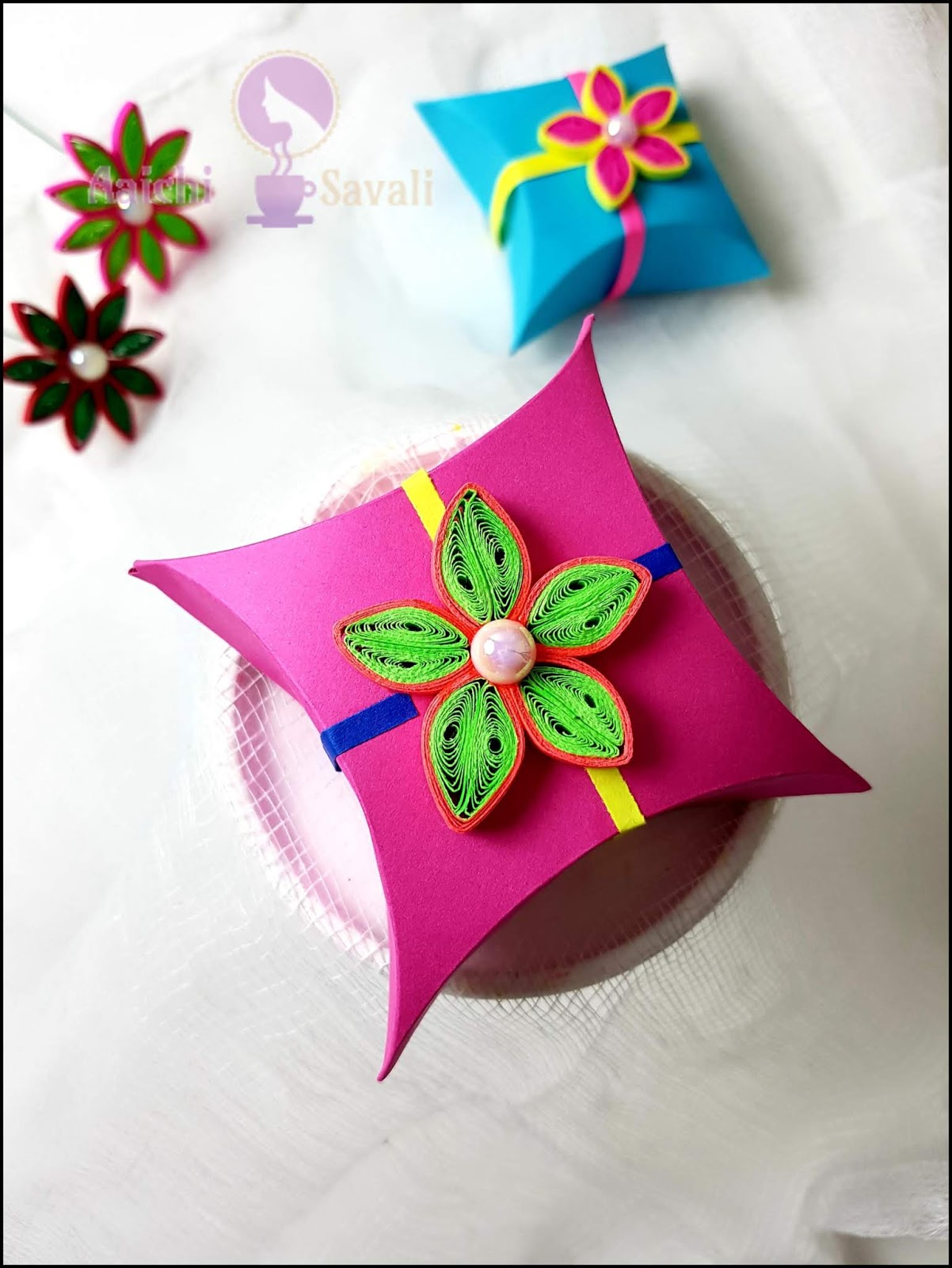 How to Make a Gift Box Out of Craft Paper - DIY Origami Gift Ideas ...