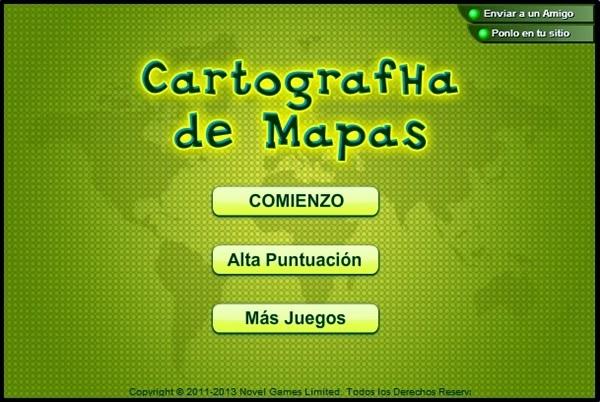 """""""Cartographa de mapas"""" (Juego de geografía del mundo)"""