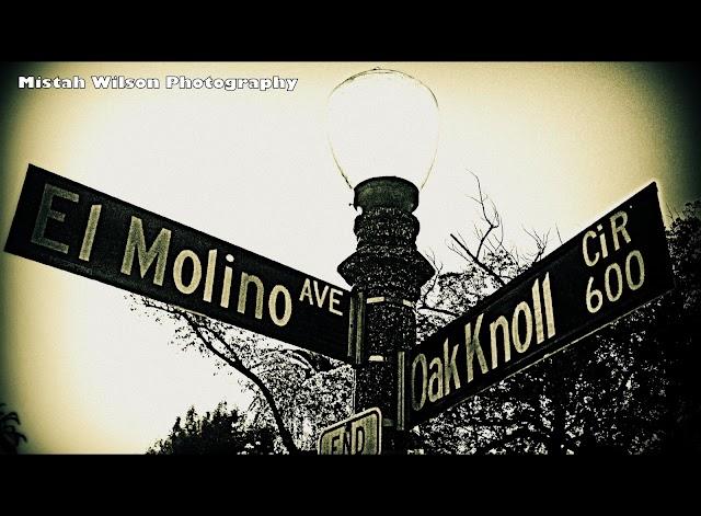 El Molino Avenue & 600 Oak Knoll Circle, Pasadena, California by Mistah Wilson Photography