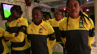 Lionesses of cameroon