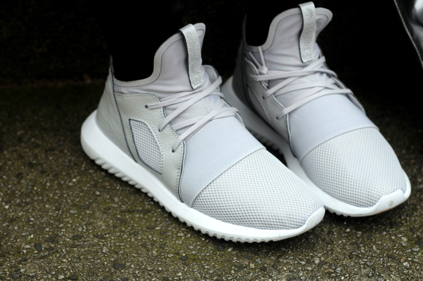 Adidas Women White Tubular adidas NZ