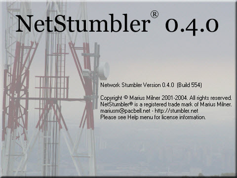 netstumbler 0.4.0