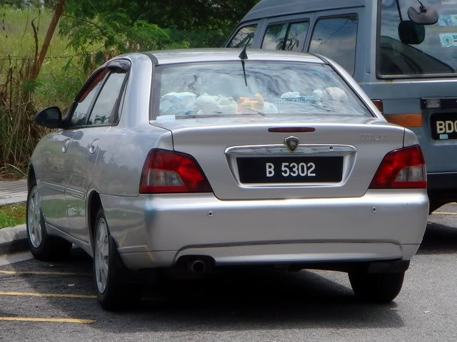 Automotive Database Proton Waja