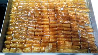 Κουρκουμπινάκια φούρνου με σκέτο φύλλο βούτυρο και ζάχαρη- Ετοιμάζονται αμέσως