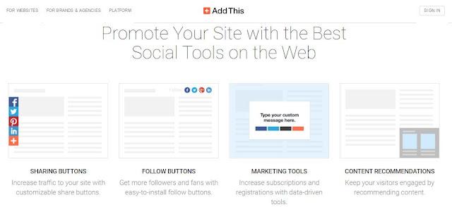 4 sharing widget media sosial terbaik http://www.elmu.web.id/2016/03/4-sharing-widget-media-sosial-terbaik.html