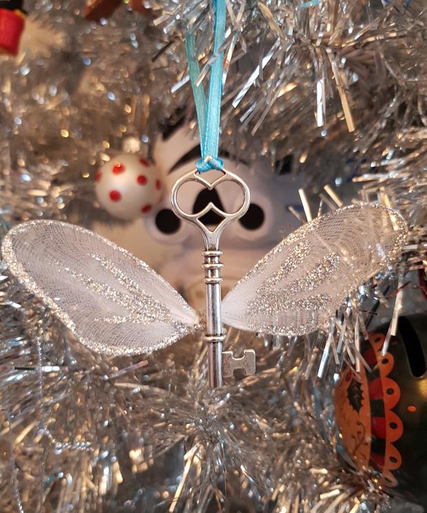 My Harry Potter inspired flying keys