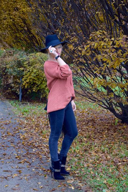 jeans neri abbinamenti jeans neri outfit nero come abbinare il nero outfit novembre 2016 outfit invernali mariafelicia magno fashion blogger colorblock by felym fashion blog italiani fashion blogger italiane blogger italiane di moda web influencer italiane