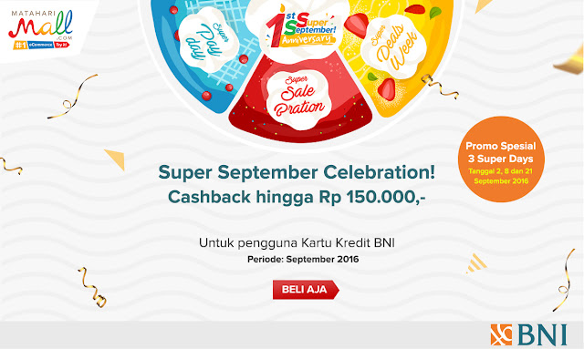 Matahari Mall Promo Super September Celebration