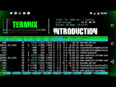 تثبيت تطبيق termux على الأندويد وبدأ إختبار الإختراق