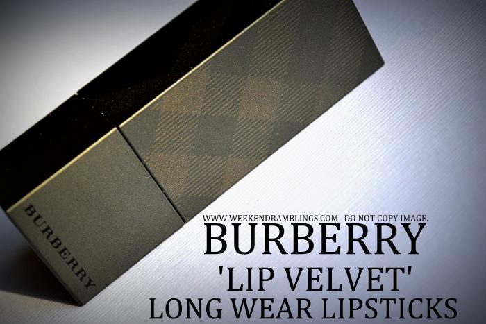 Burberry beauty makeup matte lip velvet lon wear lipstick darker indian skin blog swatches