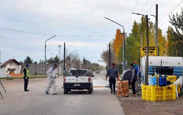 Un paciente con Covid-19 se escapó del hospital para ir a comprar en Lamarque