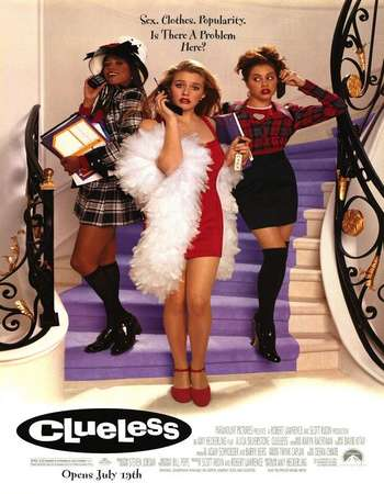 Poster Of Clueless 1995 English 300MB BRRip 480p ESubs Free Download Watch Online Worldfree4u