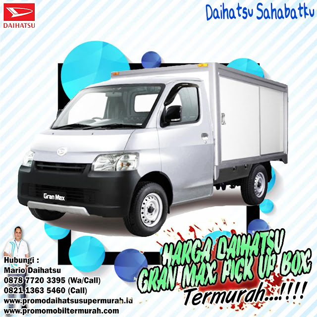 promo daihatsu gran max pick up box