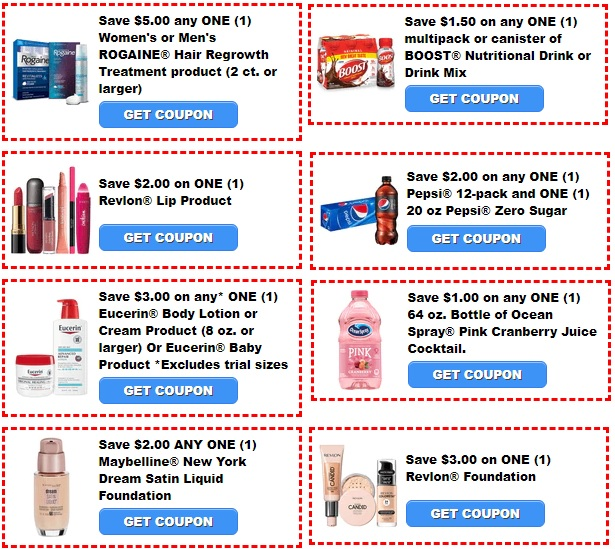 Printable Coupons for cvs deals