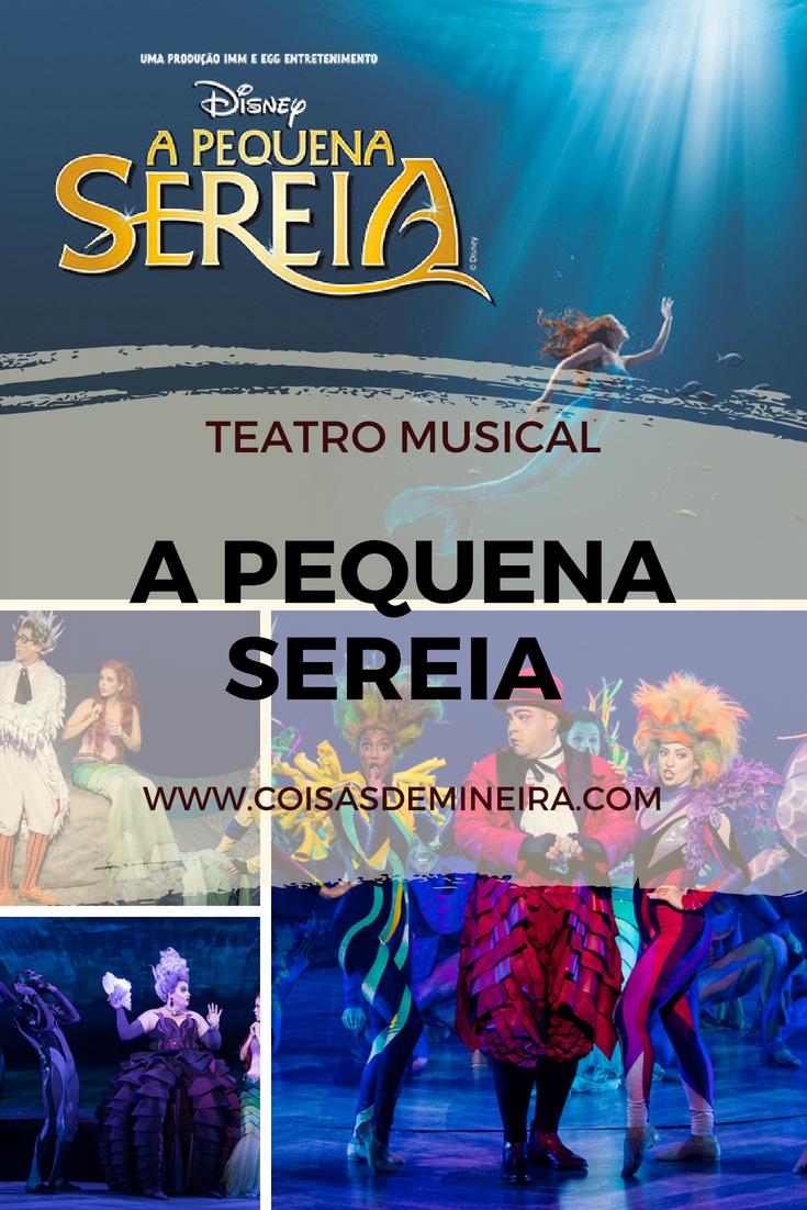 { #CRÍTICA } TEATRO MUSICAL  |  A PEQUENA SEREIA