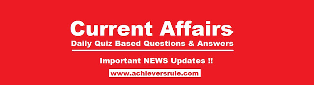 Daily Current Affairs Quiz - 14 and 15 April 2017