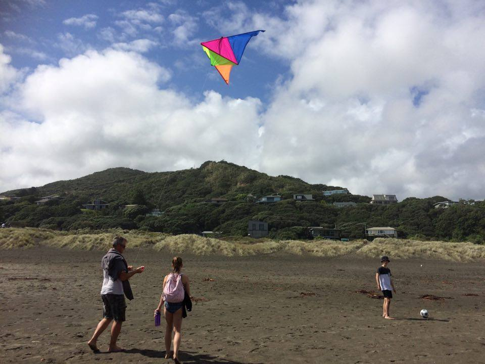Who ever thought I'd learn so much about parenting simply by flying a kite?