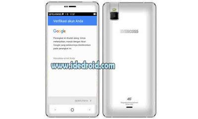 Cara Bypass / Remove Akun Google (FRP) Evercoss U50C Winner Y Selfie+