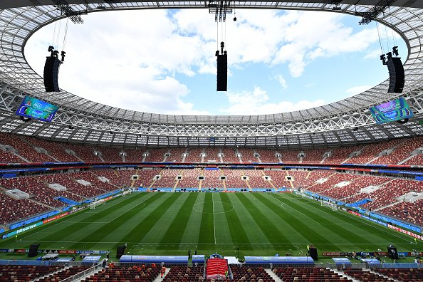 Russia 2018 world cup kick-off at Luzhniki stadium