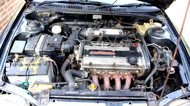 Mesin Mitsubishi 4G93 DOHC