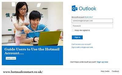 Hotmail tech support