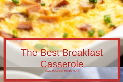 The Best Breakfast Casserole #christmas #breakfast