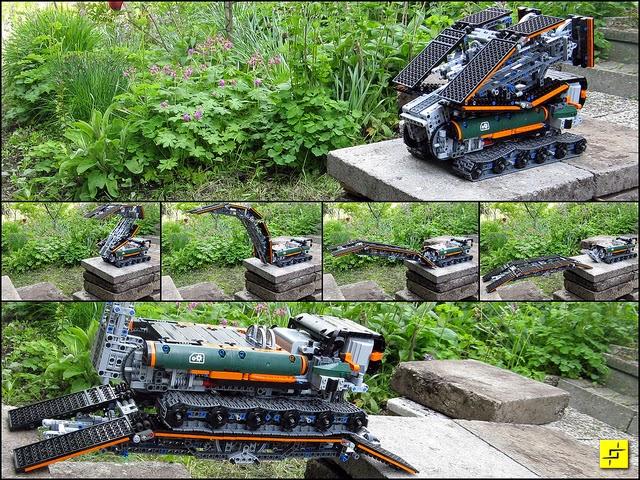 LEGO Bridging Vehicle
