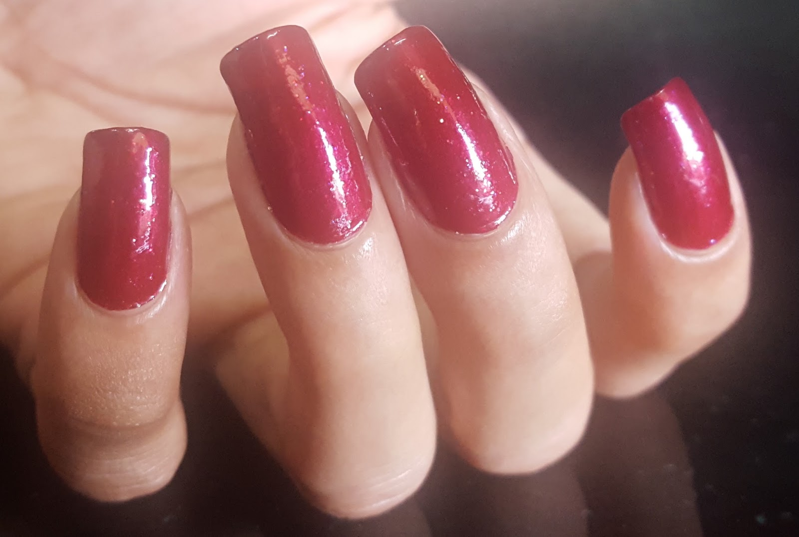 Ahoy! Nails!!: Stay Quirky Nail Polish - Maroon Plum 874 Swatch & Review