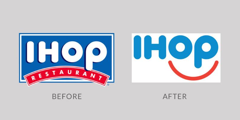 A Happy Face for IHOP Rebrand