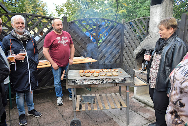 Fotografia do Barbecue, a ser preparado por um dos clientes do BFW