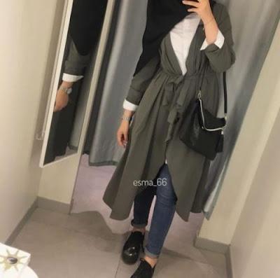 ملابس محجبات كاجوال شتوي