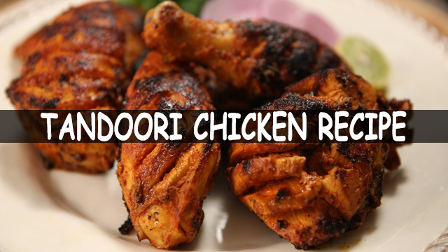 How To Make Tandoori Chicken In Microwave | Tandoori Chicken Recipe | Tandoori Chicken