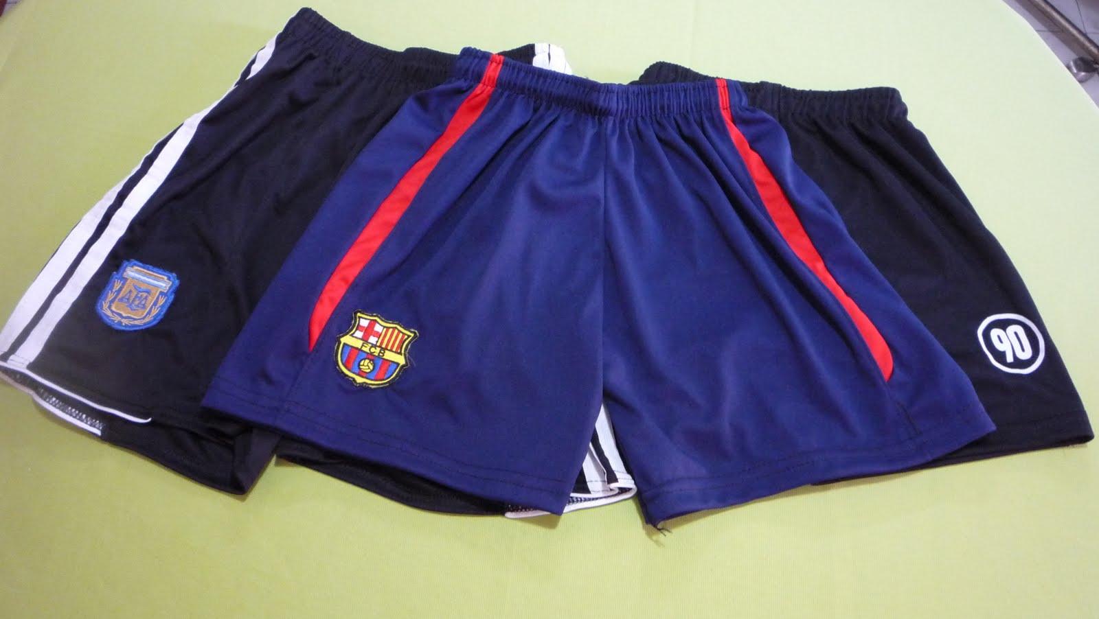 81e292ee50245 Shorts de Futbol. Adultos y Niño. Talles del 16 al 50. Equipos de futbol y  lisos.