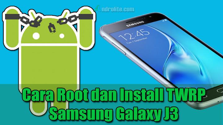 Install TWRP + Cara Root Samsung J3 SM-J320G Tanpa / Dengan Komputer