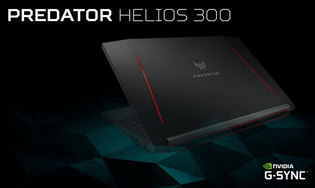 Acer Launches Predator Helios 300 Gaming Laptop