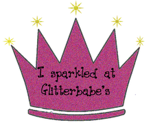 I am featured on Glitterbabe Greetings