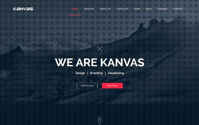 Kanvas - Multipurpose Parallax Muse Template