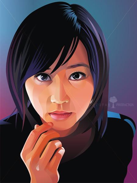 Horikita Maki SNSD Vector