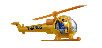 San Diego Comic-Con 2018 Exclusive Thanos Helicopter Hot Wheels by Mattel x Marvel