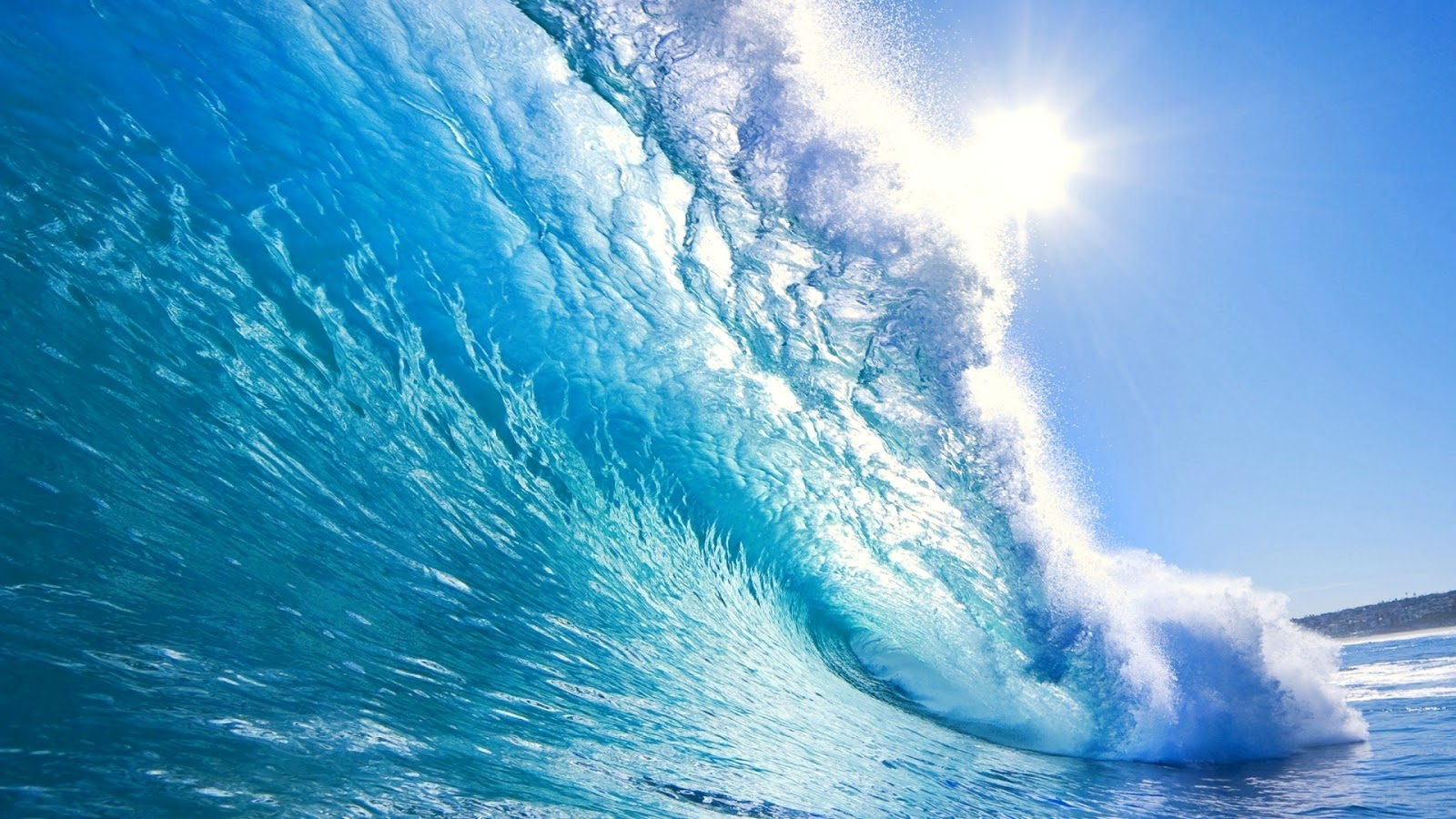 Blue Sea Wave Wallpapers - Wallpapers