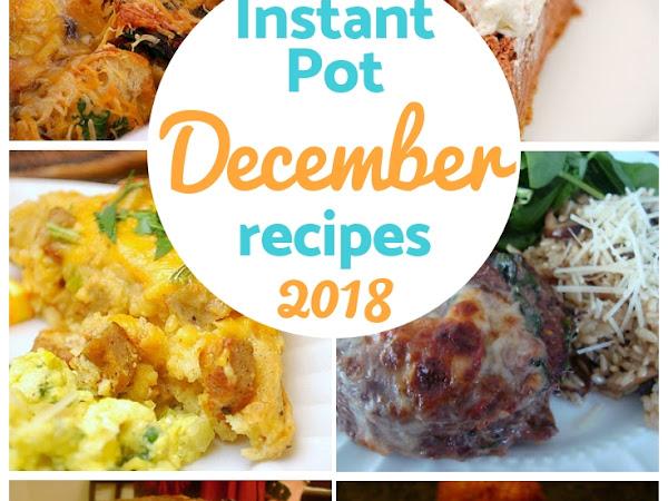 Instant Pot: December Recipe Round Up!